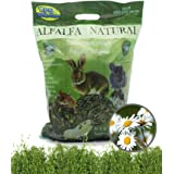 BPS Heno Alfalfa Natural Hierba Fresca para Mascotas Pequeñas 2 Modelo Elegir (Heno Alfalfa+Manzanilla 700/800g) BPS-35455