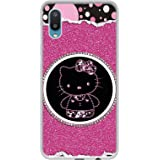 Amazon Brand - Solimo Designer Kitty with Glitter UV Printed Soft Back Case Mobile Cover for Samsung Galaxy M02