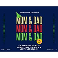 MOM & DAD Card Game: Mind Game for Concentration, Best Fun Card Game for Family & Kids Ages 5-8 Years, 9-12 Years Old…