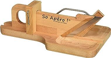 So Apéro - Guillotine à Saucisson - l'Originale - Fabrication 100% Française - L'authentique guillotine à saucisson...