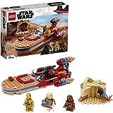 LEGO 75271 Star Wars Luke Skywalker's Landspeeder Byggsats med Minifigurer och Rymdskepp, Barn 7 år