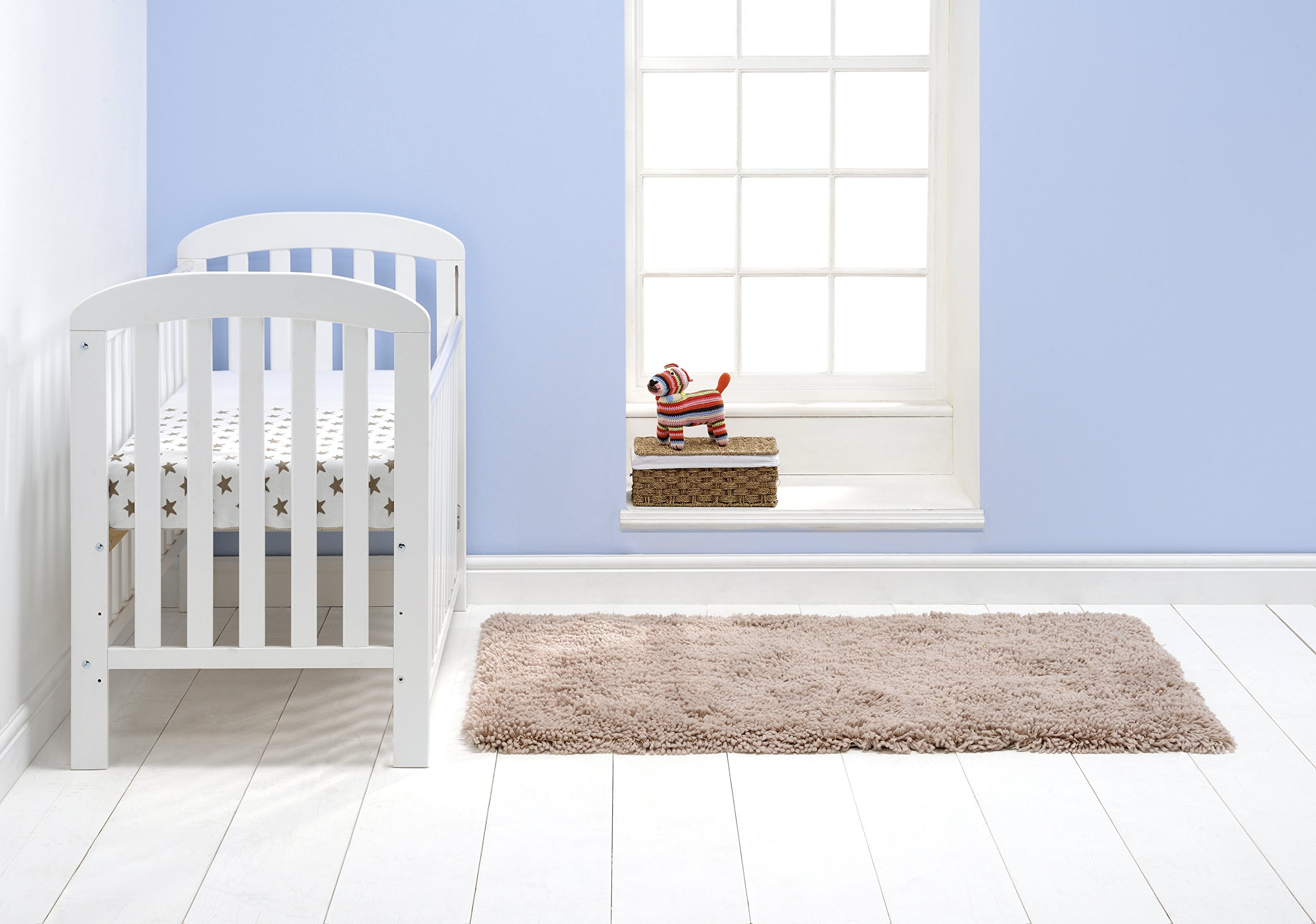 East Coast Anna Dropside Cot (White) East Coast Nursery Ltd  4