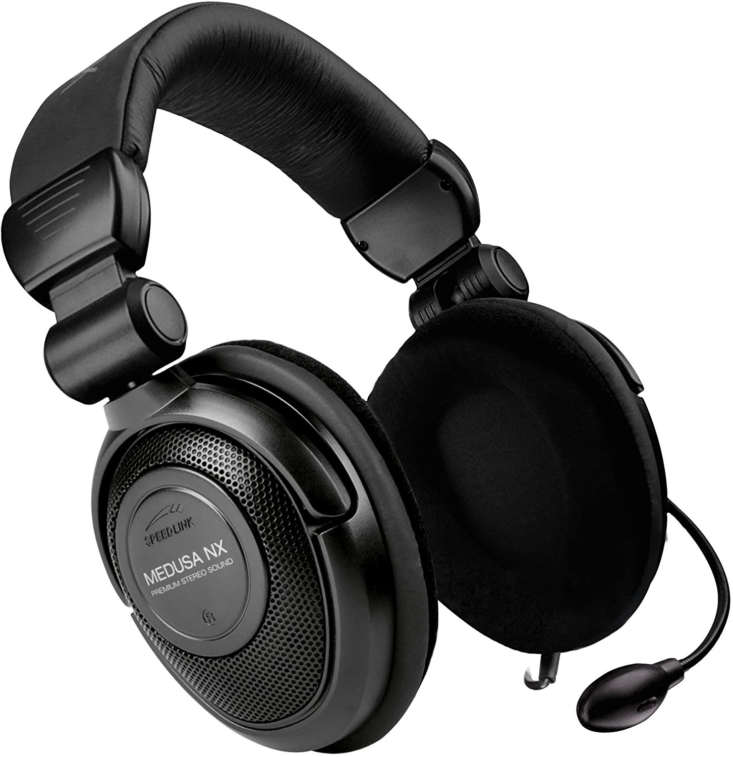 bose gaming headphones. speedlink medusa nx core gaming stereo headset - black (xbox 360/pc): amazon.co.uk: pc \u0026 video games bose headphones