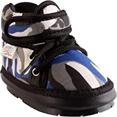 CHiU Chu-Chu Military Pattern Shoes Strap with Lace for Baby Boys & Baby Girls