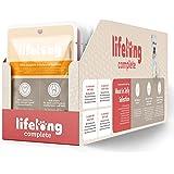 Marchio Amazon - Lifelong Alimento completo per cani adulti - Selezione di carne in gelatina 2,4 kg (24 sacchetti x 100g)