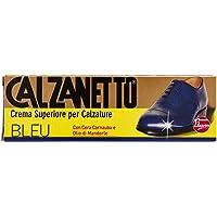 Calzanetto, Lucido calzature in Tubetto, con cere pregiate, facile applicazione, alto nutrimento, lucentezza, idro…