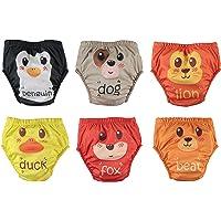 OZYOL Action Lot de 6 Imperméable Culotte d'apprentissage Coton pour Bébé