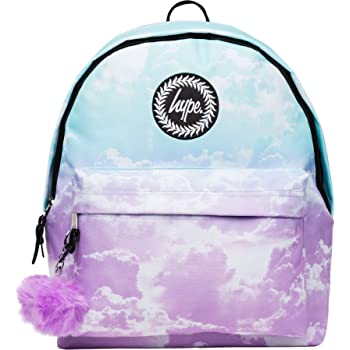 8ac1110078 Hype Backpack Bag - Pastel Clouds Pom Pom Rucksack - Bags   Backpacks For  Boys and