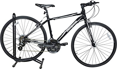 Mongoose Artery Sport 21 Speed 1FP966G0050000A Unisex Bicycle, 700x32c Inches (Black) 10% Assembly Required By Customer