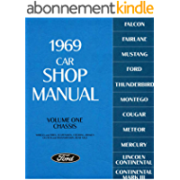 1969 Car Shop Manual (Volume I-V) (English Edition)