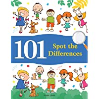 101 Spot the Differences : Fun Activity Books For Children (With Answer sheets)
