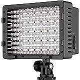 Neewer CN-160 40004082 LED Dimmbare Ultrahoch Power Panel Digitalkamera/ Camcorder Videolicht für Digital SLR Kameras, 160 Stück