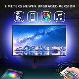 LED Strip Licht, TV achtergrondverlichting (APP+ Afstandsbediening)