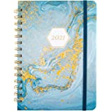 Planner 2021/2022 - Weekly & Monthly Planner 2021 Diary, January 2021 - December 2021, 12.6 x 20 cm, Premium Thicker Paper wi