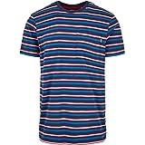 Urban Classics Men's Fast Stripe Pocket Tee T-Shirt