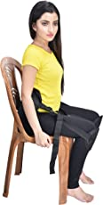 Transforming Life Back Support Belt for Lower Back Pain Relief and Posture Correction, Free Size (Black)