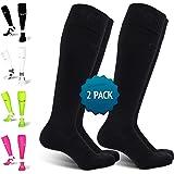 Calze a compressione di alta qualità per uomo e donna, protezione per caviglia e metatarso, cuciture piatte, per corsa, cicli