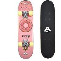 Apollo Skateboard Donut pour Enfants de la Marque, Petit Skate pour Enfants, 24 Pouces / 61 cm de Long