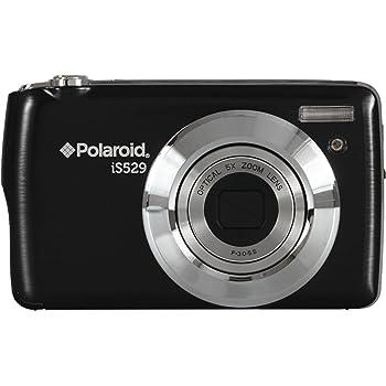 Polaroid HD Digital Camera - Black (16MP, 5x Optical Zoom, 4x Digital Zoom, SD Card Slot) 2.7 inch LCD