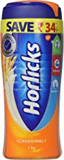 Horlicks Health & Nutrition drink - 1 kg Pet Jar (Classic Malt)