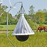 VOSS.farming Bremsenfalle Bee Free Anti-Bremsen-Falle, Bremsen-Bekämpfung, bis zu 95% Weniger Ungeziefer, Weide, Pferdekoppel