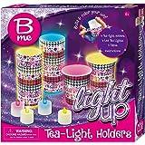 B me Children's Arts & Craft 'Light Up' Set (Tea Light Holders)