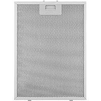 KLARSTEIN Filtro Antigrasso per Cappe Aspiranti, 28 x 38 cm, di Ricambio, Sostitutivo, Accessorio, Alluminio