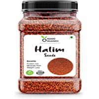 Namo Organics 100% Organic Halim Seeds ( Aliv / Garden Cress ) for Eating and Weight Loss - Immunity Booster Superfood…
