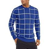 TACVASEN Men's Jumper Winter Sweater Crew Neck Pullover Jumpers Warm Knit Sweatshirt Casual Autumn Sweaters