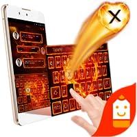 Love Fire Theme&Emoji Keyboard