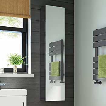 1200mm Tall Stainless Steel Mirror Bathroom Cabinet