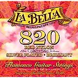 Labella L820 Flamenco Jeu de Cordes en nylon pour Guitare Medium Tension