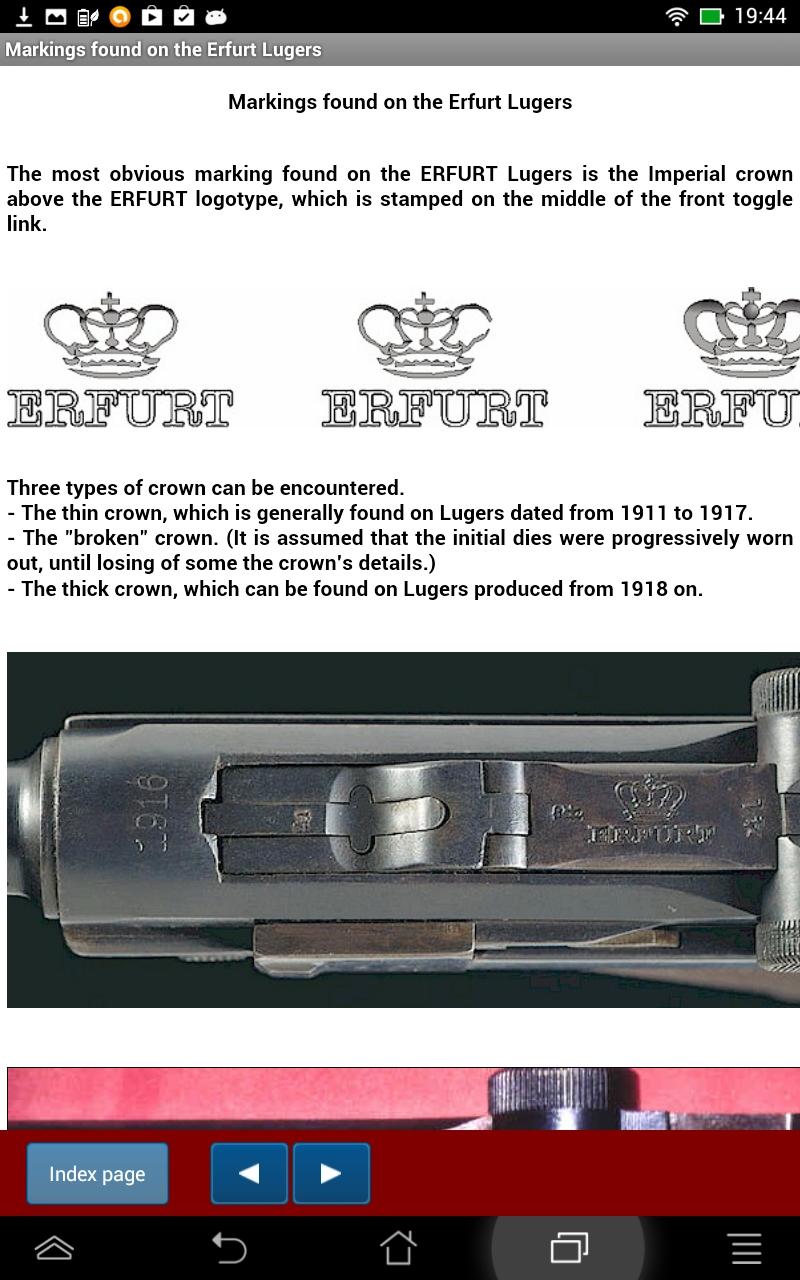 German Luger Markings S 42