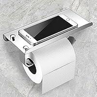 Porte Papier Toilette, Mefine Support Papier Toilette Derouleur Mural, 304 Acier Inoxydable Porte Rouleau Toilette…