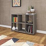 تكنوموبيلى خزانة الكتب الخشبية E1719