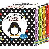 Babys erste Bilder: Mein kleiner Bilderschatz: enthält 4 Pappbilderbücher: Babys / Unterwegs / Tiere / Dein Gesicht: ab 1 Mon