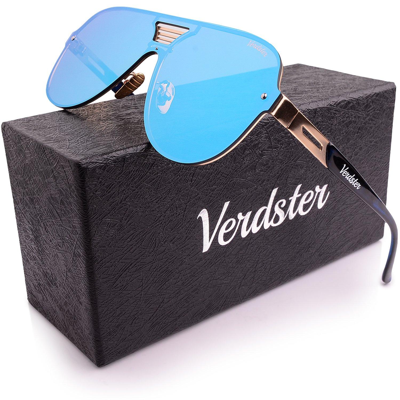 Mirrored Sunglasses For Men Custom TourDePro Lenses British Trucking