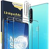 UniqueMe [2+3 pièces] Verre Trempé pour Oneplus Nord avec Outil d'installation et Protection Camera pour Oneplus Nord…