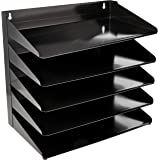 AmazonBasics 5 Tier Metal Document Tray, 13 inch x 9 inch x 13 inch