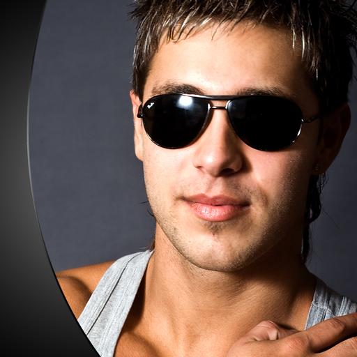 Männer Sonnenbrillen Foto Editor