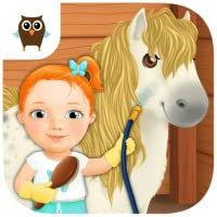 Sweet Baby Girl Cleanup 3 - Clean the Kitchen, Bathroom, Treehouse and Swimming Pool, Play Car Wash and Take Care of the Little Pony (No Ads)
