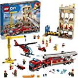 Lego Toy City Downtown Fire Brigade , For age 6 Years and above - 60216