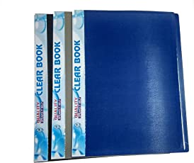 File folder accessories buy file folder accessories online at best amit stationery point point a3 display folder with 40 transparent sleevepocket file set of fandeluxe Gallery