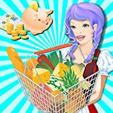 Supermarkt Mädchen Einkaufszentrum