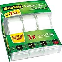 Scotch 8.1975C32 Pack de 3 Dévidoirs de Ruban 19 mm x 7,5 m