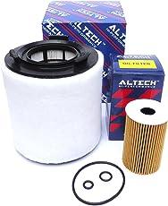 ALTECH Hi-Performance Air + Oil Filter Set For Skoda Rapid - Diesel (2011 To 2014 Model)