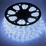 COCOMIA Led-lichtslang voor buiten, 50 meter, waterdichte led-slang voor buiten, decoratie en verlichting, voor Halloween, tu