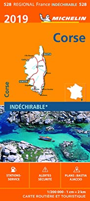 Carte Corse Michelin 2019