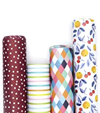 7mm Gift Wrappers - Colours (set of 4 sheets)