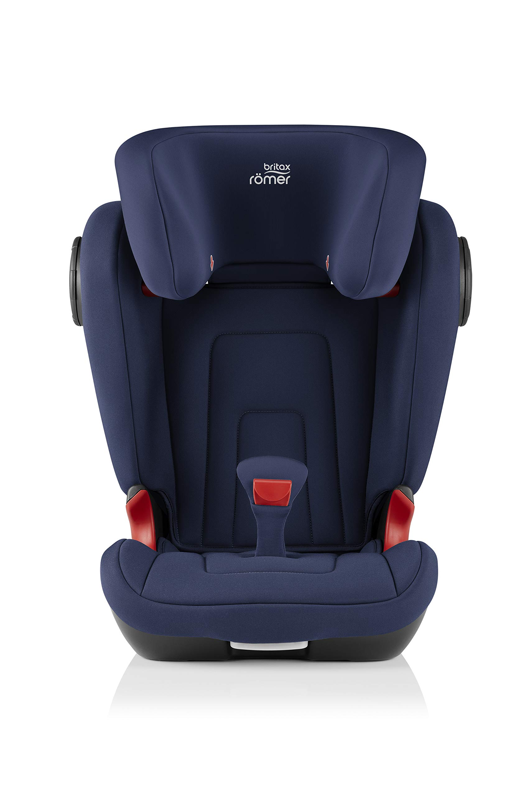 Britax Römer KIDFIX² S Group 2-3 (15-36kg) Car Seat - Moonlight Blue  Advanced side impact protection - sict offers superior protection to your child in the event of a side collision. reducing impact forces by minimising the distance between the car and the car seat. Secure guard - helps to protect your child's delicate abdominal area by adding an extra - a 4th - contact point to the 3-point seat belt. High back booster - protects your child in 3 ways: provides head to hip protection; belt guides provide correct positioning of the seat belt and the padded headrest provides safety and comfort. 2